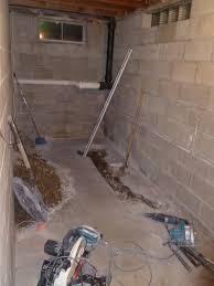 basement bathroom plumbing pump u2014 new basement and tile