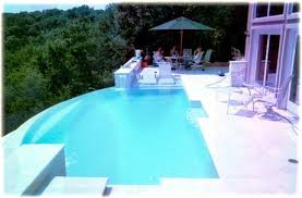 Patio And Pool Designs Negative Wet And Vanishing Edges Different Pool Designs Custom