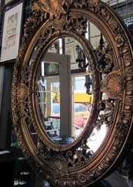 Rhinestone Wall Mirror Large Oval Wall Mirror Foter