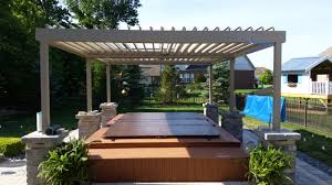 Decks With Roofs Pictures by Open Close Pergola Roof Roof On Closed Pergola Decks Fencing