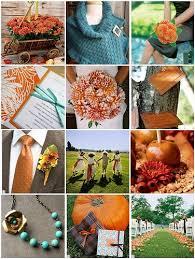 25 teal orange weddings ideas fall wedding