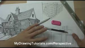 linear perspective drawing lesson 1 6 introduction to drawing