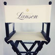 personalised directors or makeup chairs choice of canvas and