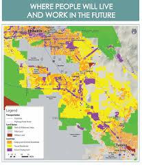 Phx Map Enviro Impact Study Begins On Tucson Phx Passenger Rail