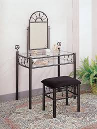 metal vanity table choice image coffee table design ideas