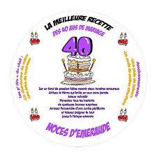 40 ans de mariage 50 s pour toujours bonnes noces d emeraude a marc et epouse