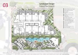 Podium Floor Plan by Skyring Apartments Newstead Brisbanedevelopment Com