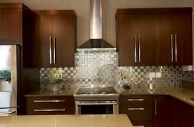 Pictures Of Stainless Steel Backsplashes by Best Stainless Steel Backsplash Tile Gallery Home Design Ideas