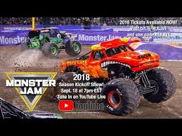 grave digger monster truck schedule monster jam 2018 season kickoff show youtube