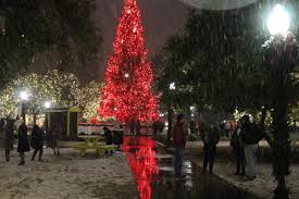 san antonio tree lighting 2017 san antonio sees first significant snowfall in over 30 years texas