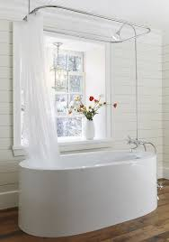 15 incredible freestanding tubs with showers white bathrooms