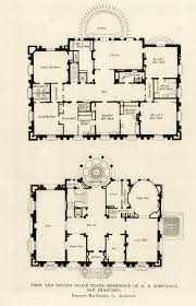 floor plans of mansions first and second floor plans of the a b spreckels mansion san