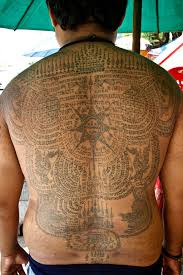 Tattoos In - blessed by a monk my magic sak yant expert vagabond