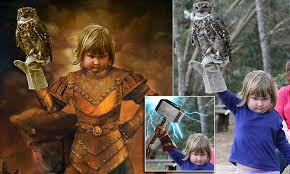 Art School Owl Meme - girl holding an owl is turned into memes after a photoshop battle on