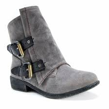 target gray womens boots s muk luks avori buckle detail ankle boots gray target