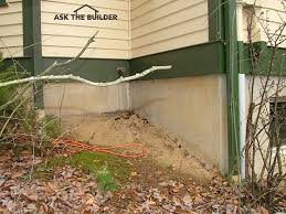 How To Regrade A Backyard Tips On Foundation Soil Grade Around Houses Ask The Builderask