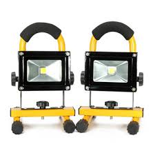 smart electrician rechargeable work light 10w portable rechargeable led flood light work outdoor emergency