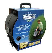 winegard gm mp1 carryout black mp1 manual portable satellite tv