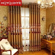 Cheap Stylish Curtains Decorating Collection In Luxury Blackout Curtains Decorating With Aliexpress