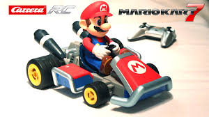 carrera mario kart 7 rc radio controlled 1 16 scale unboxing