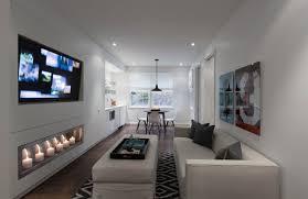 long narrow room basement ideas u0026 photos houzz