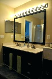 bathroom mirror with lights behind led lights behind bathroom mirror led large bathroom mirrors with