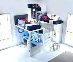 bureau en gros jean talon lit mezzanine enfant avec bureau le pour lit mezzanine
