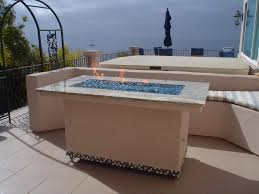 Rectangle Fire Pit Table Rectangle Fire Pit U2013 Leasure Concepts