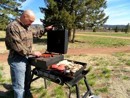 blackstone tailgater all purpose outdoor cooking unit youtube