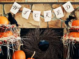 make a vintage inspired halloween banner hgtv