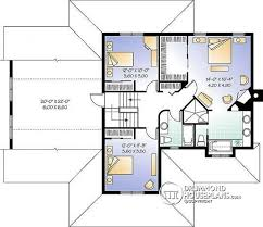 floor plans for large homes house plan w3846 detail from drummondhouseplans