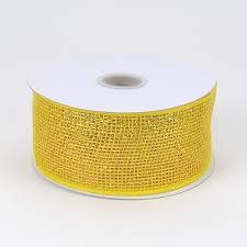 metallic gold ribbon deco mesh ribbon mesh ribbons wholesale tulleshop