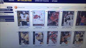 deck e card digital card collecting service opening a pack