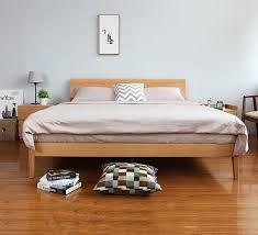 All Wood Bed Frame Wooden Bed Frame Antoine Wooden Bed Frame