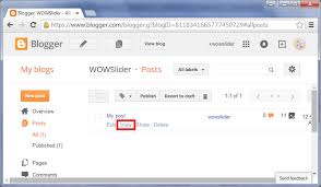 blogger com how to add wowslider to blogger