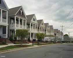 row houses in charlotte nc stock photo getty images