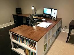 Home Office Desk Storage Desk Appealing Home Office Desks And Storage Bloc Desk With