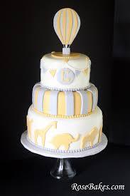 hot air balloon cake topper behance