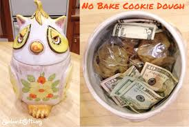 cookie gifts no bake cookie dough inside cookie jar thoughtful gifts