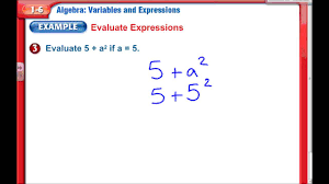 variable u0026 expressions chapter 1 lesson 6 7th grade math youtube