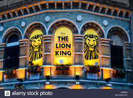the lion king is performing at the lyceum theatre theater which