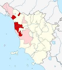 Map Of Tuscany Italy Erzbistum Pisa U2013 Wikipedia