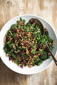 the best shredded kale salad oh she glows
