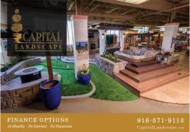 California Backyard Capital Landscape New Design Showroom In California Backyard In
