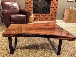 Walnut Slab Table by Slab Wood Coffee Table Ebay