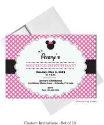 free minnie mouse party cards free printables party