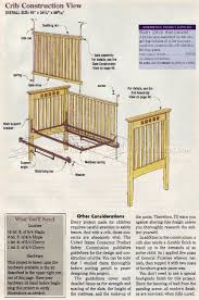 Free Woodworking Plans For Baby Crib by Bed Woodworking Plans Dining