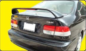honda civic si spoiler 96 00 coupe factory style