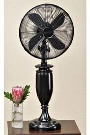 old fashioned electric fan i love the old fashioned elegance of this white pedestal fan