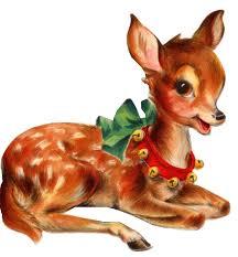 christmas deer vintage christmas deer png png mart